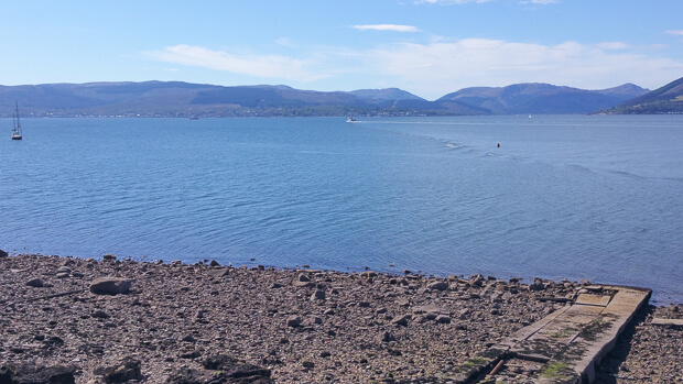 View From Gourock to Dunoon