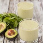 Creamy, smooth, refreshing and delicious. This apple mint avocado smoothie takes just 6 ingredients to make. It's perfect as a healthy start to your morning or as a re-energising pick me up during the day.