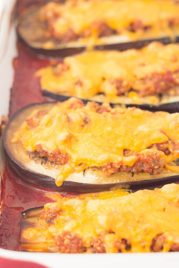 Baked Aubergine With Red Pesto And Cheese - How To Bake Your Aubergine Step 4