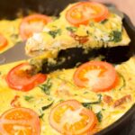 Serve this versatile courgette and sundried tomato frittata for breakfast, lunch or dinner. It's delicious, quick, healthy and easy to make. The perfect choice for when time is limited.