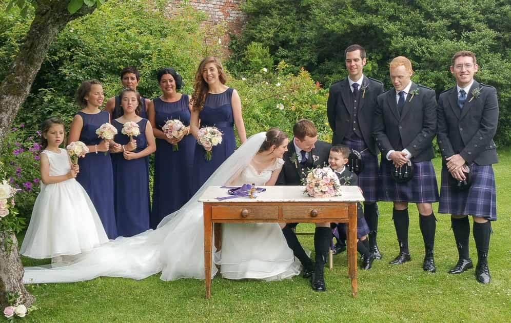 Wedding at The Byre Inchyra