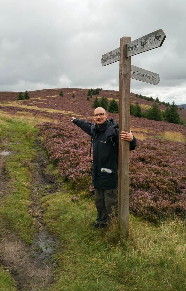 Southern Upland Way Signpost.