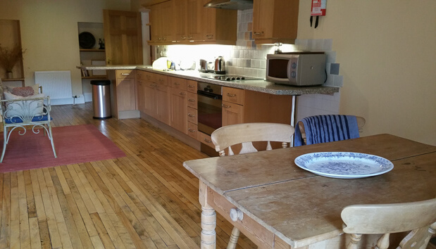 Self-catering kitchen Broadmeadows House