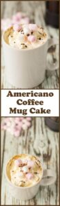 Americano coffee mug cake is a delicious and simple to make microwave mug cake. It's perfect for when you're short on time and feel like a sweet treat!