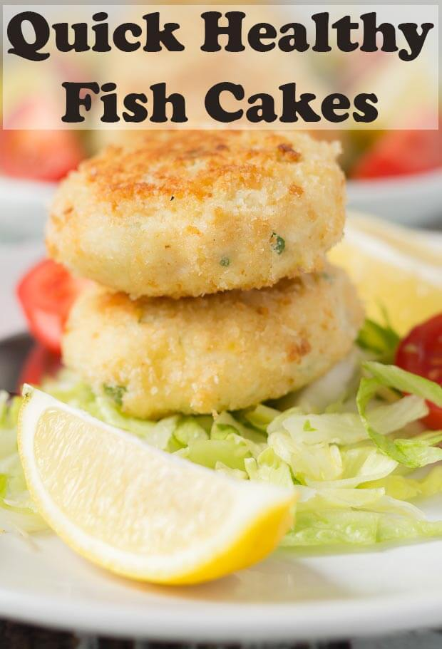 These quick healthy fish cakes are really easy to make and delicious too. Packed full of flavour, you'll definitely notice the difference in taste compared to shop bought ones! #neilshealthymeals #recipe #healthy #fish