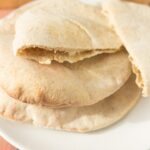 Homemade Whole Grain Pita Bread