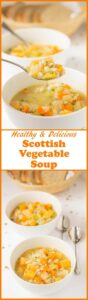 Scottish vegetable soup is packed full of healthy seasonal veggies that combine together to produce a fantastic unique flavour. This delicious bowl of goodness will hug you from your head to your toes!