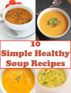 The 10 most popular soup recipes on Neil's Healthy Meals. Here's 10 great soup recipes proven to help you eat healthily, loose weight and save time and money too!