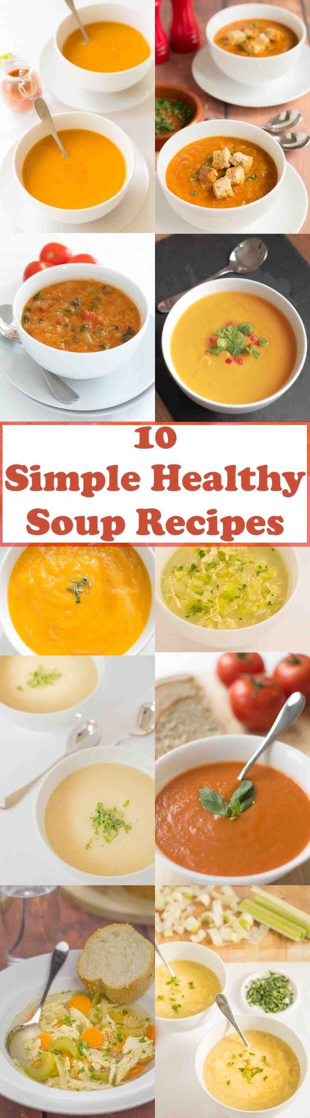 The 10 most popular soup recipes on Neil's Healthy Meals. Here's 10 great soup recipes proven to help you eat healthily, loose weight plus save time and money too!