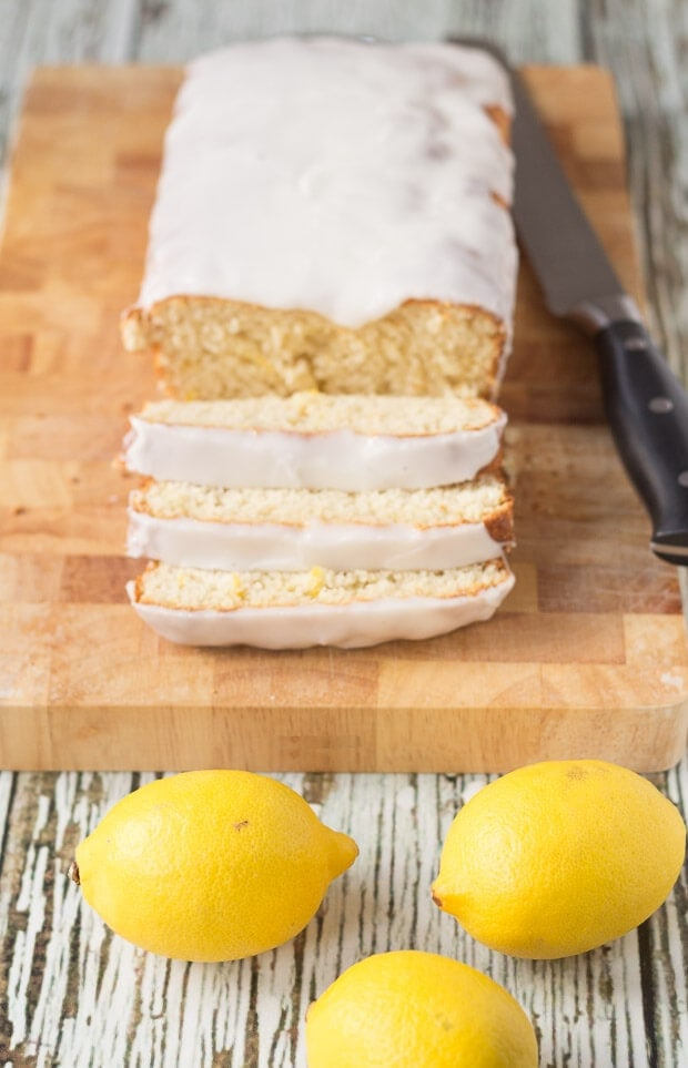 Lighter Lemon Loaf Cake