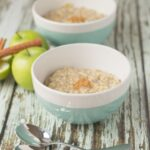 Apple spice porridge is a deliciously simple heart-warming breakfast. With a sweet apple taste and aromas of cinnamon, it's literally a hug in a bowl. Perfect for cold winters mornings.