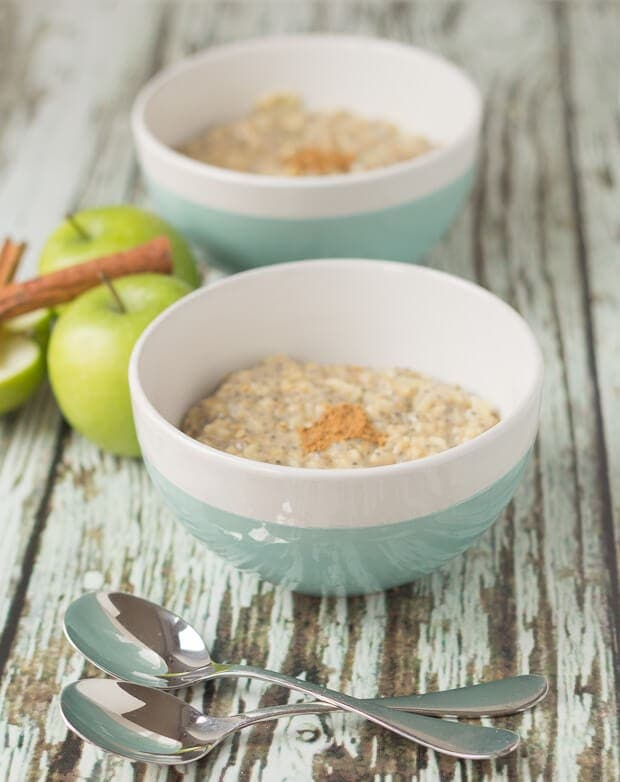 Apple Spice Porridge