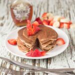 Strawberry banana valentines pancakes are delicious easy to make pancakes which are perfect for Valentines Day. Why not surprise your sweetheart with these sumptuous Valentine pancakes this Valentine's Day or indeed any day of the week?