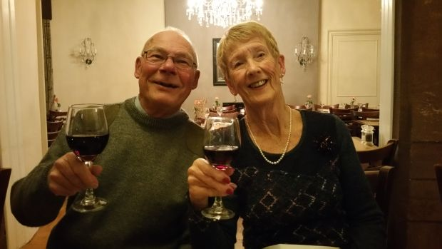 Margaret Lockier Michael Lockier 50th Wedding Anniversary