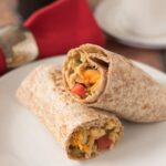 Quick Healthy Breakfast Burritos