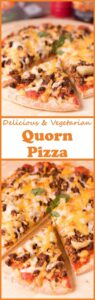 Quorn pizza is the ultimate homemade meat free vegetarian pizza! Made from delicious quorn mince with an optional spicy twist and a tasty cheddar cheese and mozzarella melted cheese topping, you'll still think you're eating an actual meat feast pizza when you're not!