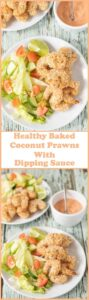This healthy baked coconut prawns with dipping sauce recipe is great for sharing with friends, can be served as an appetiser or it could even be a main family meal too. Quick and simple to make and with no frying involved this versatile tasty recipe is also budget friendly!