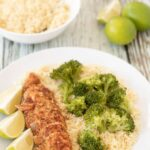 Oven baked lime chicken is a super easy 5 ingredient foil baked chicken recipe. This 30 minute delicious baked moist chicken recipe is a perfect weeknight quick healthy meal!