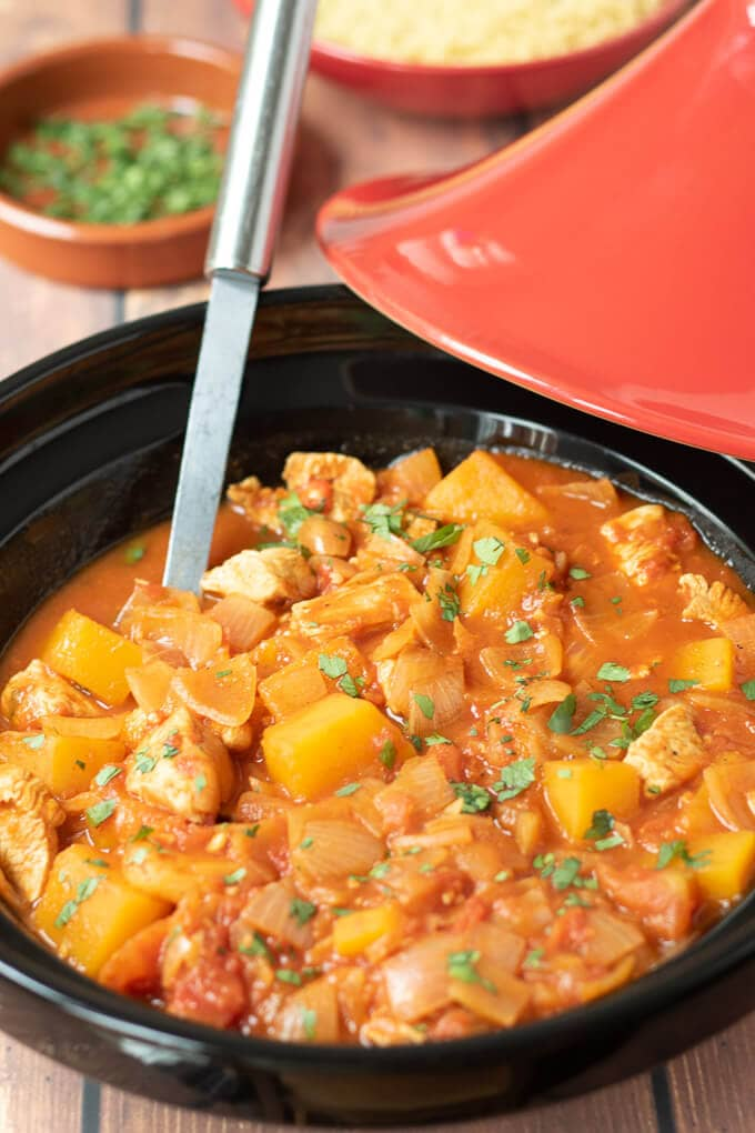Easy moroccan chicken tagine with butternut squash neils healthy meals easy moroccan chicken tagine with butternut squash featured image forumfinder Choice Image